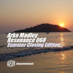Arko Madley - Resonance 068 (2016-08-30)