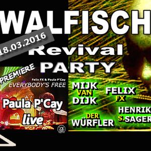 Mijk van Dijk Classic DJ Set at Walfisch Revival Party Berlin, 2016-03-18