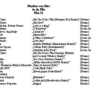 Markus van Klev in da Mix Mai 12