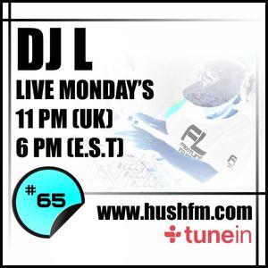 DJ L - HushFm - Episode #65 - Dark Rolling DnB