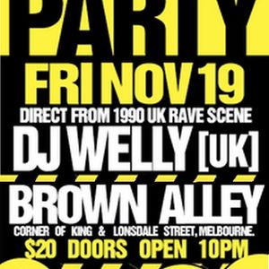 Dj Welly (Bonus Mix) Live @ Arm In Arm #5 @ Brown Alley Nightclub