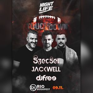 "2020.09.11. - Szecsei b2b Jackwell - NIGHTLIFE ""Touchdown"" - RIO, Budapest - Friday"