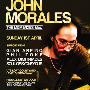 Soul of Sydney #30: Our House Sydney Presents John Morales (BBE Records) at Spirit of House - 1.4.12