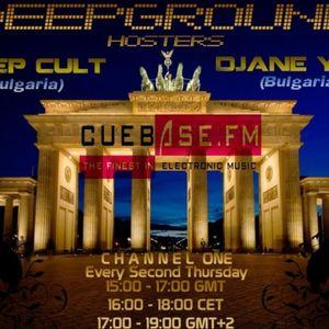 Deep Cult - DeepGround 001 [2011-June-16] @ Cuebase.FM