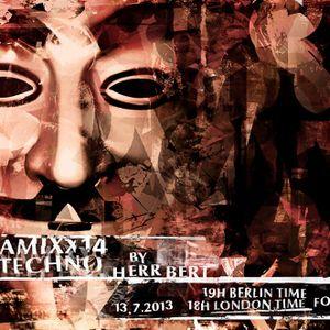 Herr Bert - DYNAMIXX TECHNO #14 - 13.07.2013