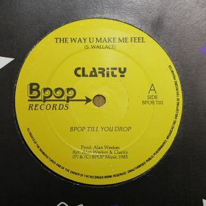 The Way U Make Me Feel(Full Lengs Mix)-Clarity-1985