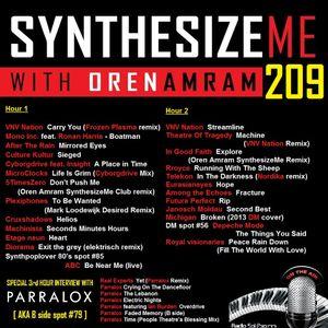 Synthesize Me #209 - 29/01/2017 - hour 3 - Parralox mini special