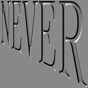 NEVER / with Postviolet