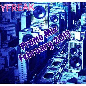 Psyfreak - Promo Mix February 2013