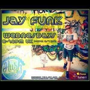 Jay Funk - Live on Hush FM - Upfront House & Garage promos - Show 44 - 21st Dec 2016 W/Chat
