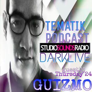 DjDarklive on - TematicPodcast - Guestdj Guizmodj