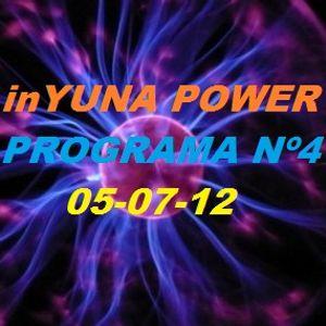 inYUNA POWER 05-07-12 Prog.4