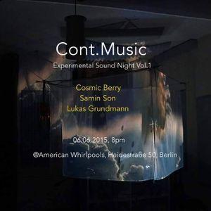 Samin Son live @ Cont.Music Experimental Sound Night Vol.1
