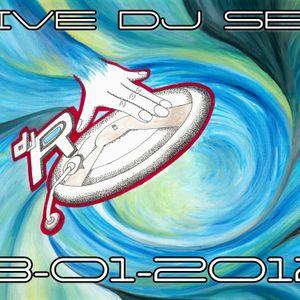 DjR LIVE SET 13-01-2012