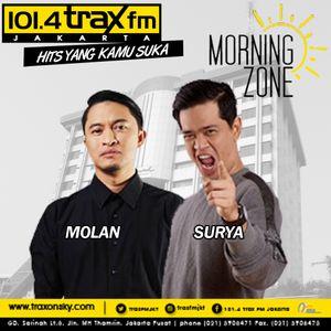 Surya Molan MorningZone TraxFMJKT 4 Agustus 2016