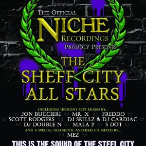 Sdot Phillie (Sheff City All Stars) LIVE Set @ Club Vibe/Niche 27.03.09