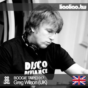 BT017 - Greg Wilson (UK)