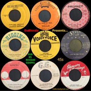 DaBlenda Presents SUB 85 REGGAE GOSPEL 45s
