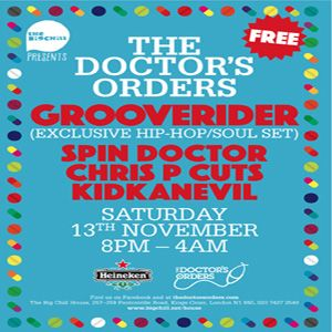 Big Chill Presents Nov Promo Mix - The Spin Doctor