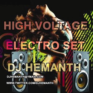 30min High Energy Electro Set-DJ Hemanth (india)