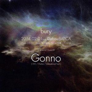 20140201 bury at BATICA After Vinyl mix