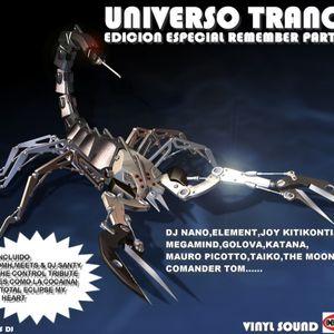 universo trance edicion especial remember parte 2 cd2 mixed by jesus dj set especial con vinilo
