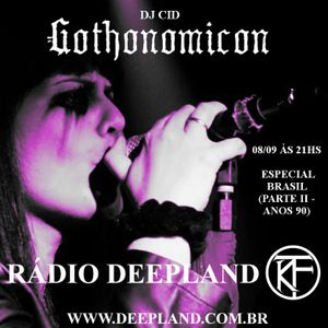 DJ Cid - Gothonomicon #12 (Brazilian gothic rock and darkwave from the 90's)
