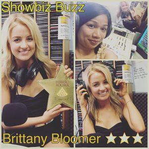 Showbiz Buzz Intview with Brittany Bloomer