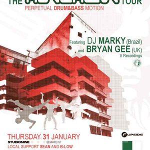 DJ Marky - Studionine 2002