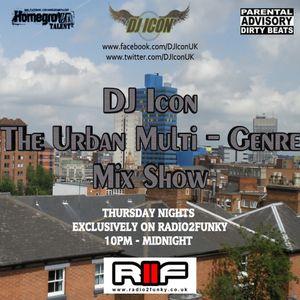 The Urban Multi-Genre Mix Show (13/03/2014)