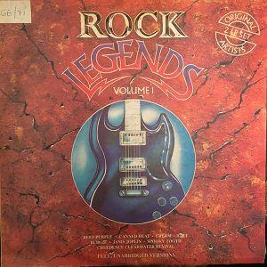Rock Legends Volume 1 [South Africa 1990] feat Deep Purple, Santana, Black Sabbath, Cream, Budgie