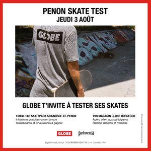 360° - Skake Test Day Globe