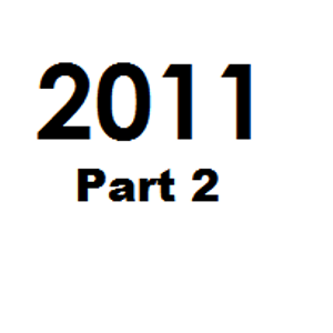 Great tunes of 2011 - Part 2