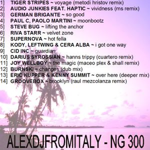 ALEXDJFROMITALY - NG300 deep & tech house 2015