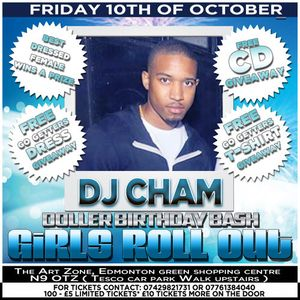 Dollers Birthday Bash #GirlsRollOut Promo CD (Mixed By @DjChamUk)
