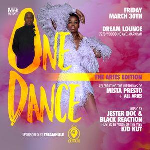 One Dance 2018 Mix [March 30th, 2018 @ Dream Lounge] {{{DL LINK IN DESCRIPTION}}
