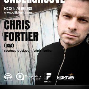 Undergroove Radio Show - w/guest CHRIS FORTIER (October 2012)
