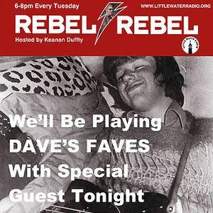 Rebel Rebel w/ guest Dave Huzzard 12/5/17 littlewaterradio.com