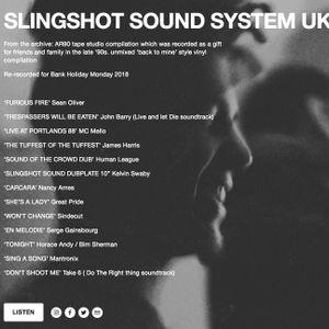 AR90 SLINGSHOT SOUND SYSTEM 1998 COMPILATION