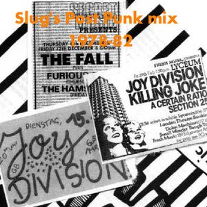 Slug's Post-Punk Mix 1978-1982