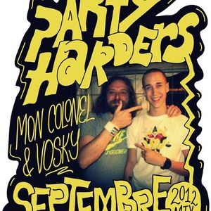 PARTY HARDERS / Septembre 2012 mix