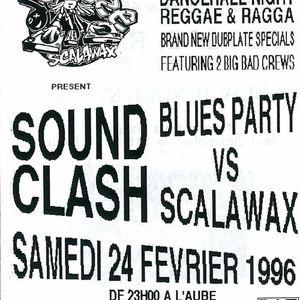 Blues Party vs Scalawax . Poterne des Peupliers 1996  PT 2