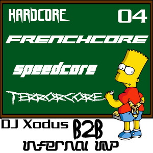DJ Xodus B2B Infernal Imp | Hardcore Frenchcore Speedcore Terrorcore 04