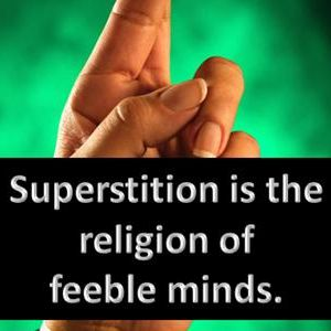 Superstitions and logic