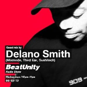 BeatUnity Radio show Guest mix by Delano Smith Dinamo.Fm Istanbul