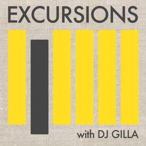Excursions Radio Show #9 with DJ Gilla - June 2012