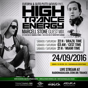 Euforya & Guto Putti (Aevus) guest mix Marcell Stone - Presents  028 High Trance Energy