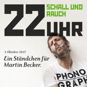 Ständchen für Martin Becker