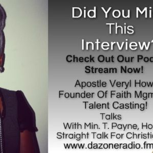 Interview With Apostle Veryl Howard