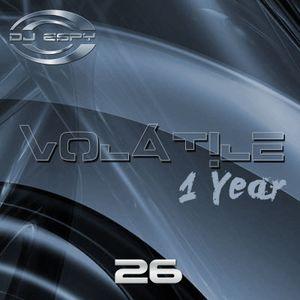 Dj Espy pres. Volatile 26 (1yr Anniversary)